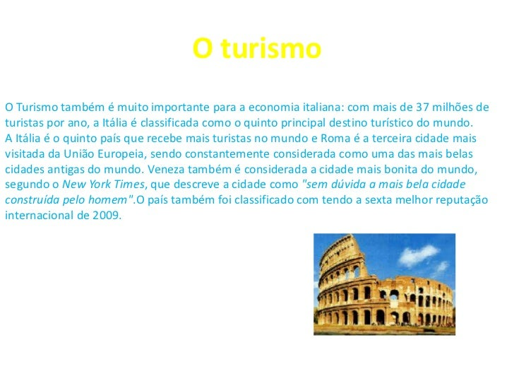 Trabalho sobre a itália Slide 2