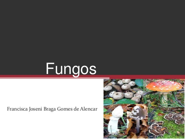 Fungos Francisca Joseni Braga Gomes de Alencar
