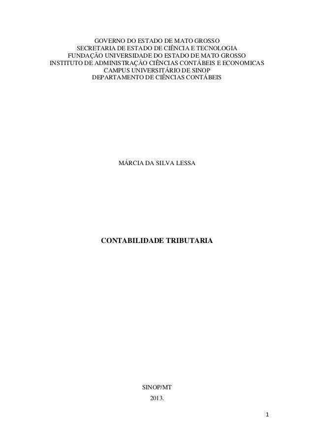 1GOVERNO DO ESTADO DE MATO GROSSOSECRETARIA DE ESTADO DE CIÊNCIA E TECNOLOGIAFUNDAÇÃO UNIVERSIDADE DO ESTADO DE MATO GROSS...