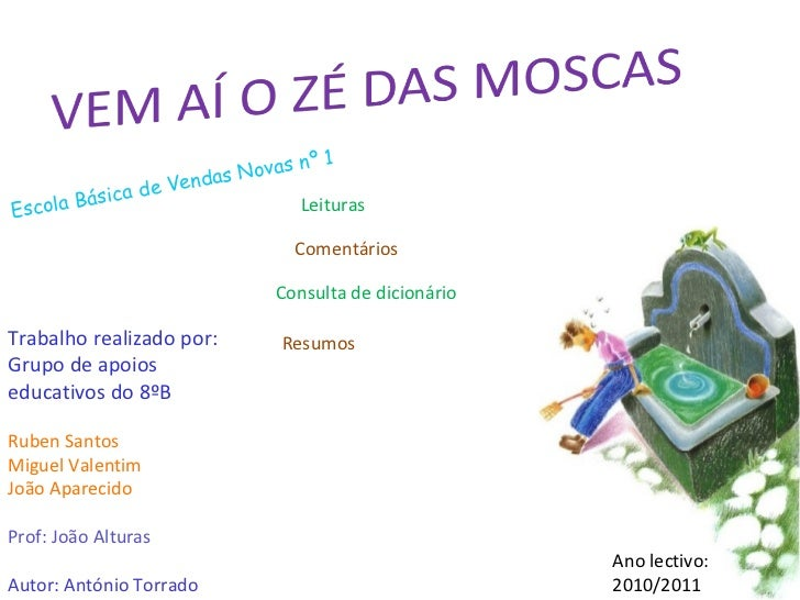 Autor: António Torrado Trabalho realizado por: Grupo de apoios educativos do 8ºB Ruben Santos Miguel Valentim João Apareci...