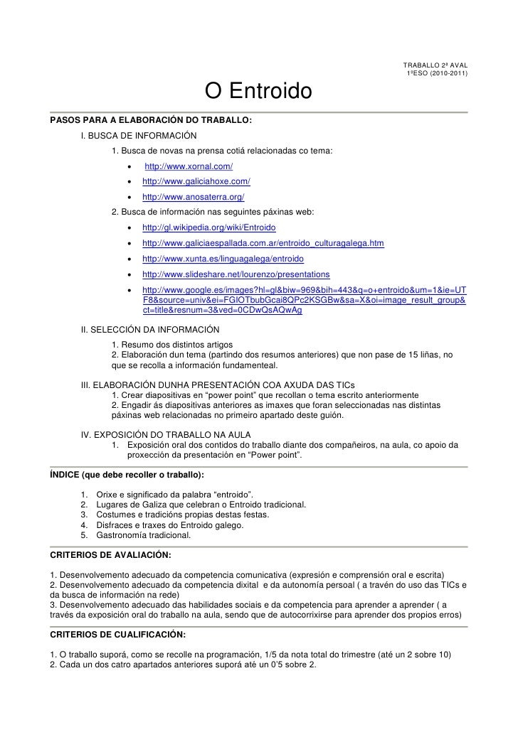 TRABALLO 2ª AVAL                                                                                              1ºESO (2010-...