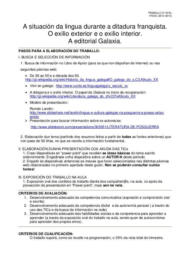TRABALLO 2ª AVAL                                                                                       4ºESO (2012-2013)  ...