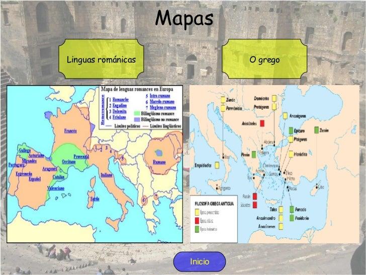 <ul>Etapas da lingua latina <li>Latín arcaico:  nesta primeira etapa empezan a aparecer os primeiros textos escritos. Esta...