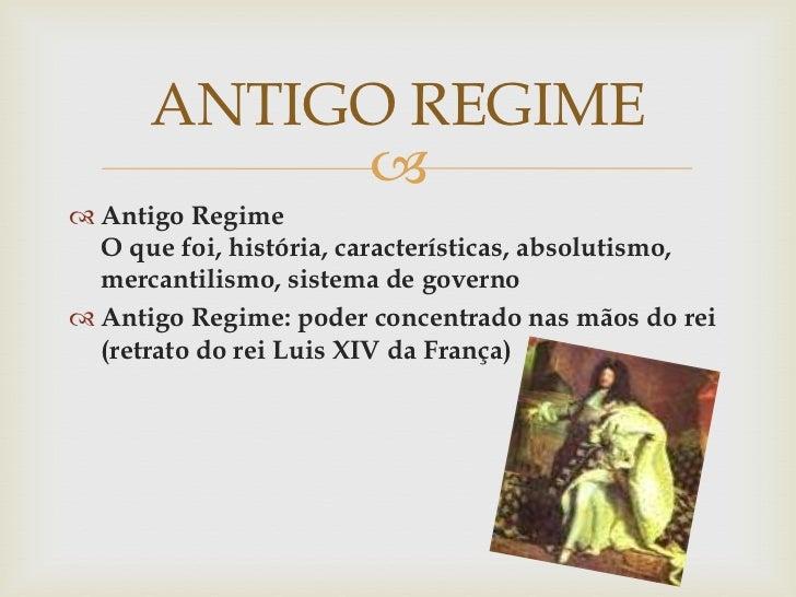 Antigo Regime