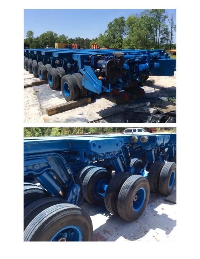 Hydraulic Platform Trailers : Trabosa line hydraulic platform trailer for sale