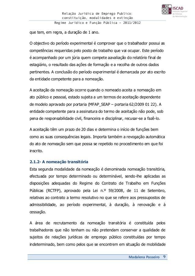 PERÍODO EXPERIMENTAL - DRH | Técnico Lisboa