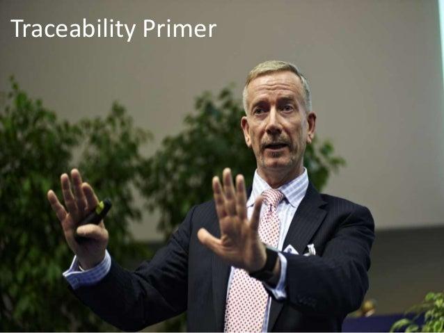 Traceability Primer