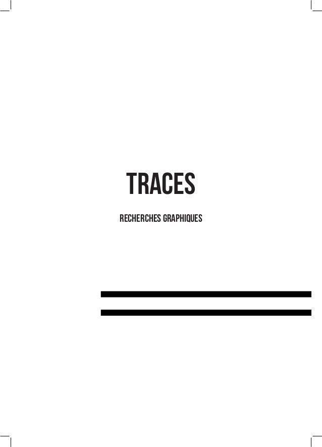 TRACES recherches graphiques