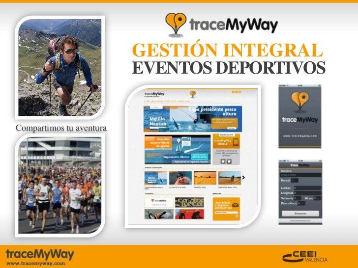 Trace myway  Slide 2