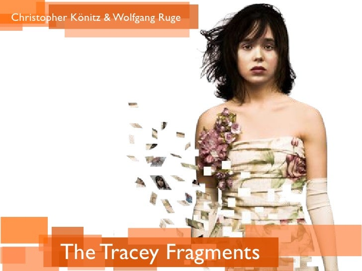 "Das Zeitbild in ""The Tracey Fragments"""