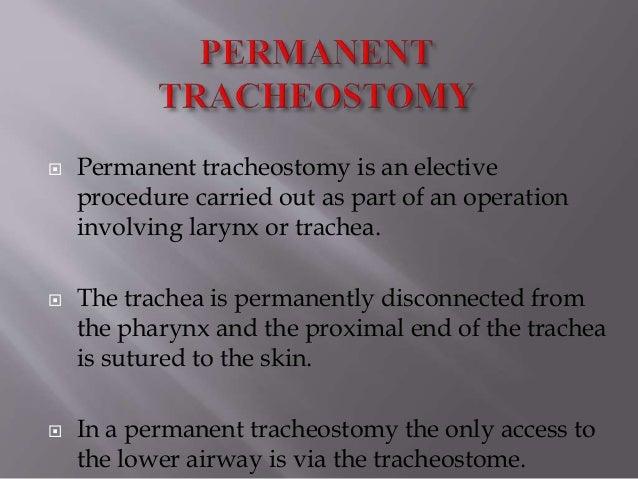 Tracheostomy Indications Contraindications Procedure
