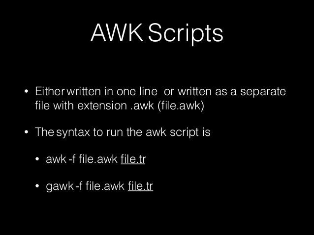 Tracing and awk in ns2