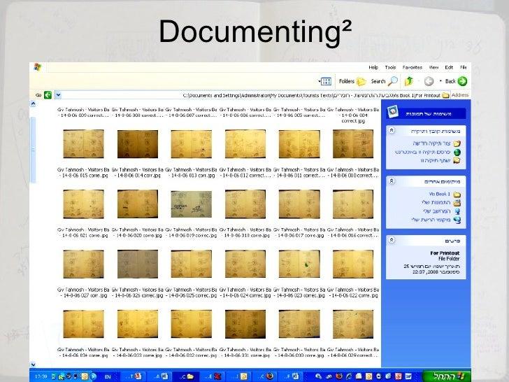 Documenting²
