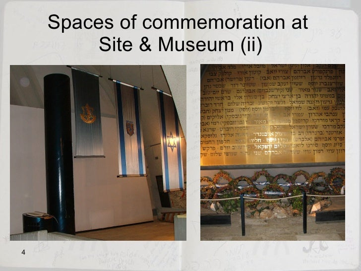 Spaces of commemoration at  Site & Museum (ii)