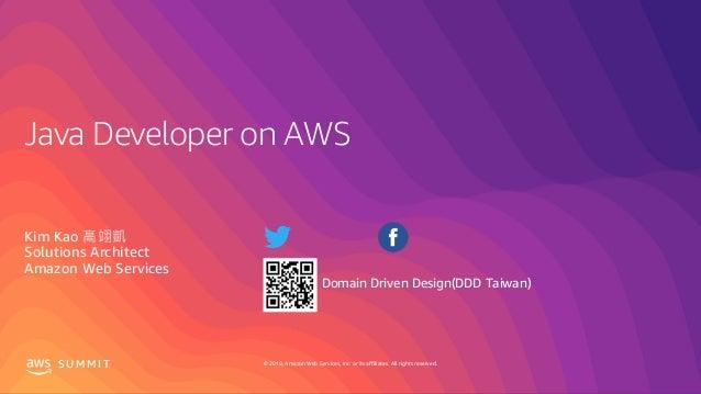 Java Developer on AWS 在AWS上開發Java應用
