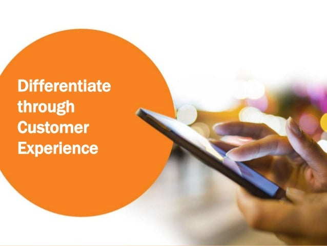 00 Differentiate through Customer Experience