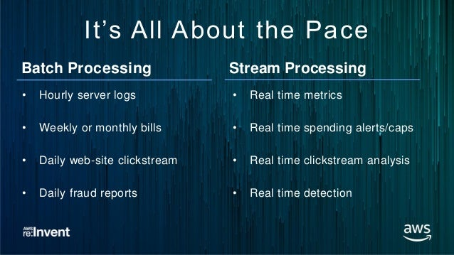 From Batch to Streaming - How Amazon Flex Uses Real-time
