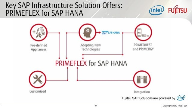 Fujitsu world tour 2017 digital business with sap fujitsu depending on local delivery capabilities 10 9 copyright 2017 fujitsu key sap infrastructure solution offers fandeluxe Choice Image