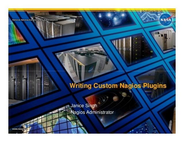 Writing custom nagios plugins with python