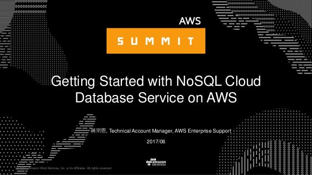 © 2015, Amazon Web Services, Inc. or its Affiliates. All rights reserved. 蔣宗恩, Technical Account Manager, AWS Enterprise S...
