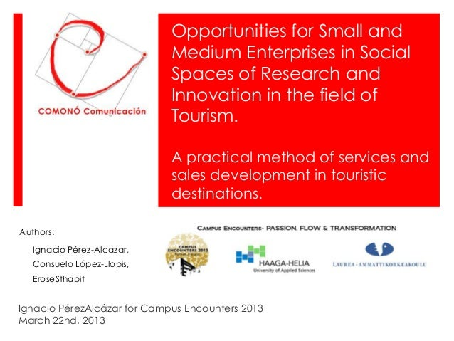 Opportunities for Small and                             Medium Enterprises in Social                             Spaces of...