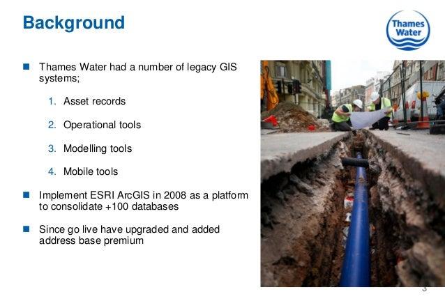 Esri GIS at Thames Water Slide 3