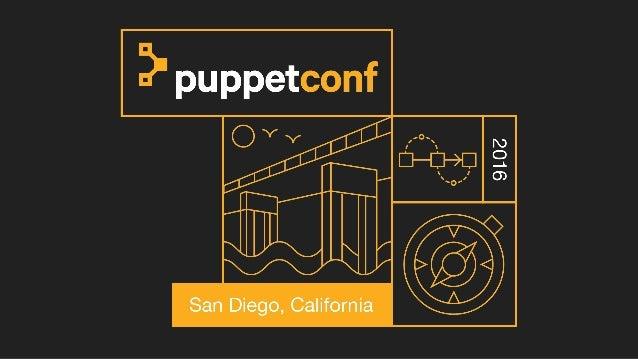 The challenges of container configuration David Lutterkort @lutterkort lutter@puppet.com