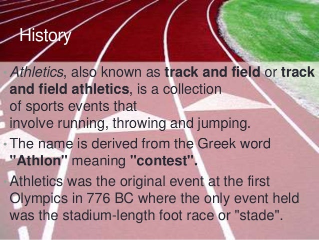 history of the track and field events at the olympics Browse famous track and field athletes  became the first amputee to compete in track events in the olympics in  woman in us track and field history.