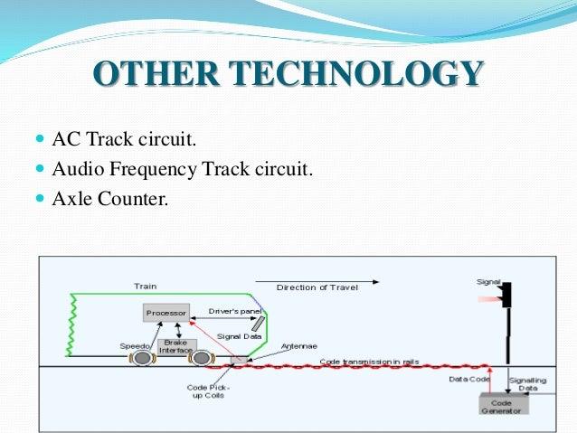 Track circuit on