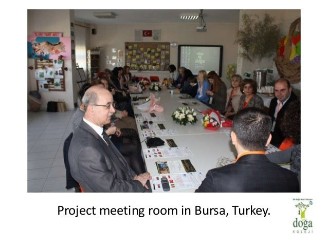 Project meeting room in Bursa, Turkey.