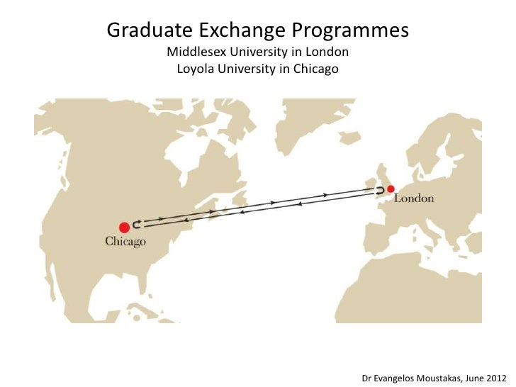 Graduate Exchange Programmes     Middlesex University in London      Loyola University in Chicago                         ...