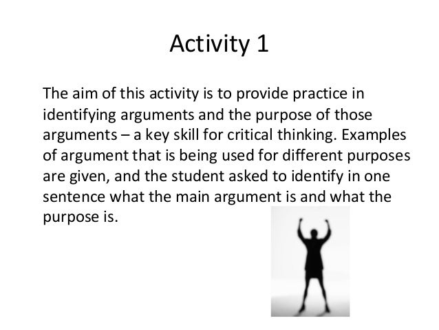 critical thinking argument analysis A directory of quality online resources for critical thinking home argument mapping art  six online tutorials in argument  a logical analysis of political.