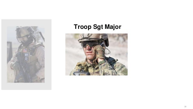 22 Troop Sgt Major