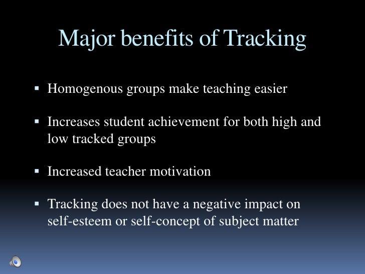 Tracking:  Investigating the Positives and Negatives Slide 3