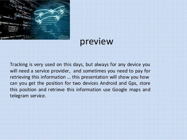 Tracking Any GPS with Google maps and Telegram API
