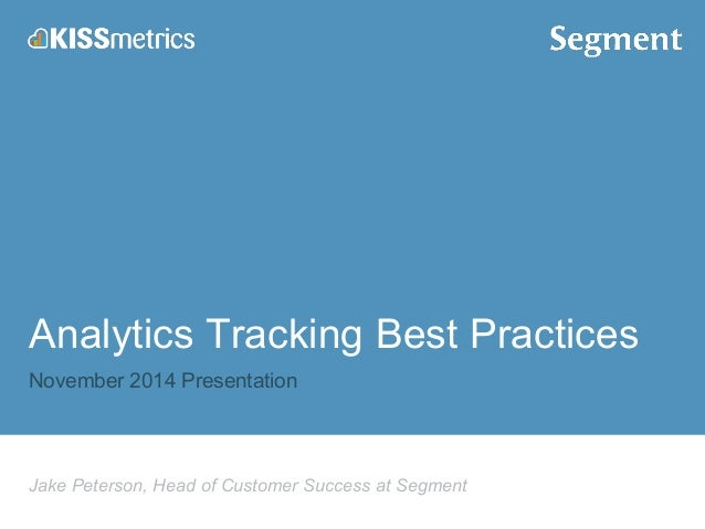 Best Practices: What to Track with Your Analytics