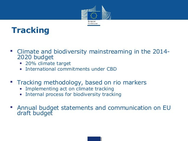 biodiversity in the eu budget and tracking