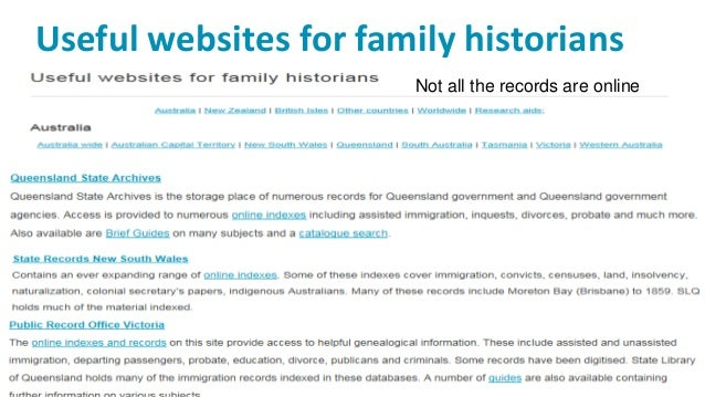 Tracking immigrant ancestors presented at state library of queensla australian newspapers online 17 solutioingenieria Images