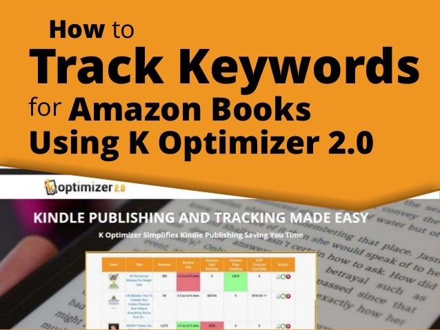How to Track Keywords for Amazon Books