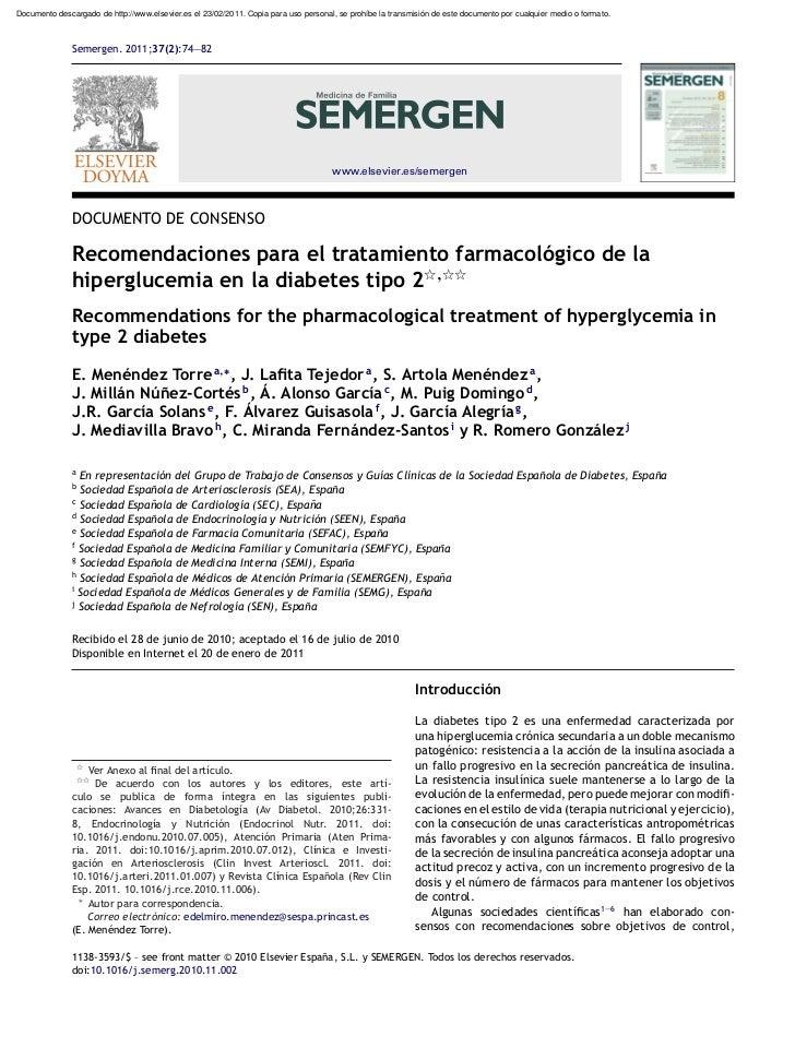 Documento descargado de http://www.elsevier.es el 23/02/2011. Copia para uso personal, se prohíbe la transmisión de este d...