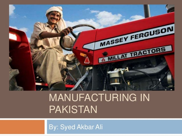 Tractor Manufacturing In Pakistan