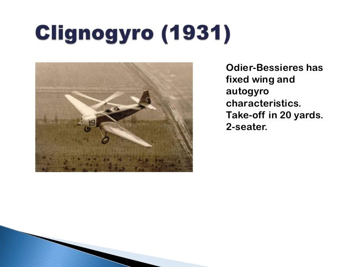 Tractor-Gyroplanes
