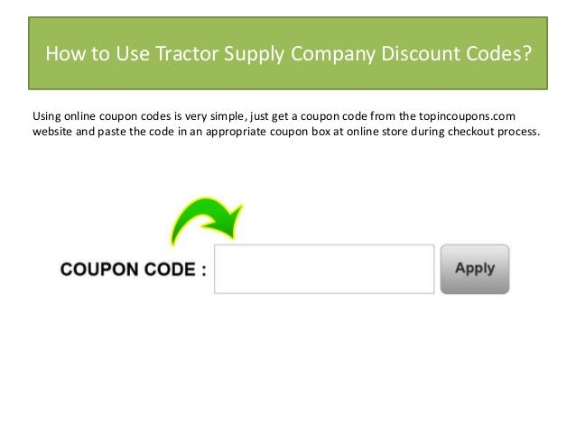 Workshop supply discount coupon