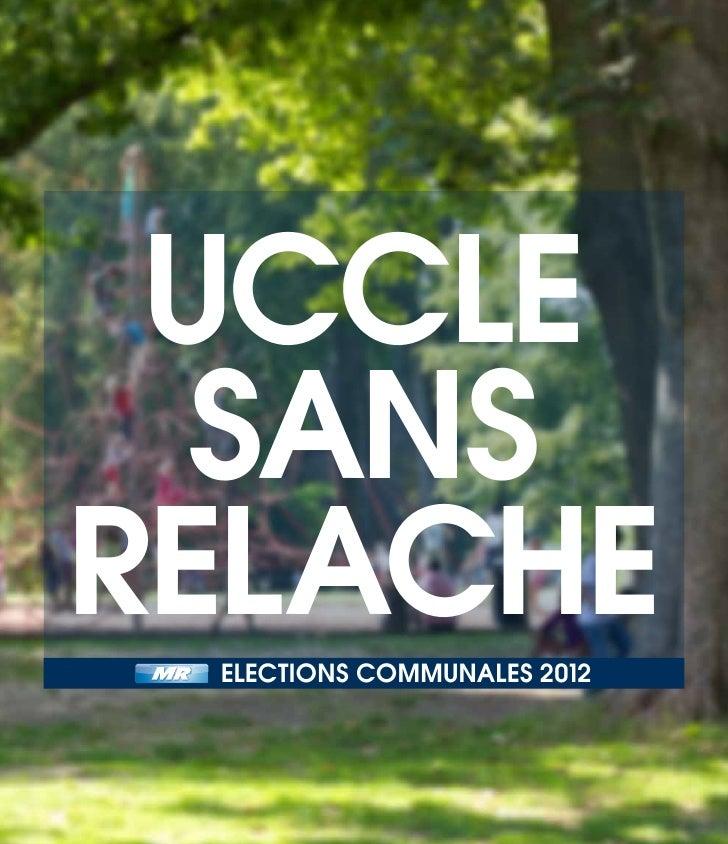 Uccle  sansrelache elections communales 2012                             p.1