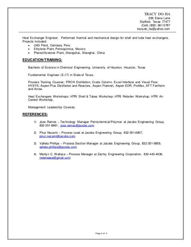 Tracy Do Ha resume