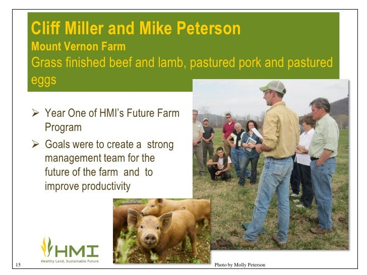 Whole farm planning success stories by tracy favre for How much did it cost to build mount vernon