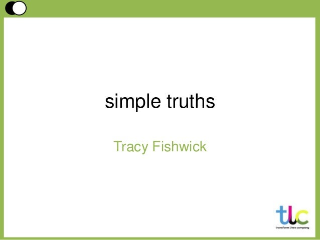 simple truths Tracy Fishwick