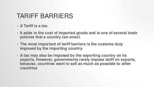 non tariff barriers in developing economies Non-tariff barriers to trade in the apec region when non-tariff measures   gathered data in multiple economies, both developed and developing.
