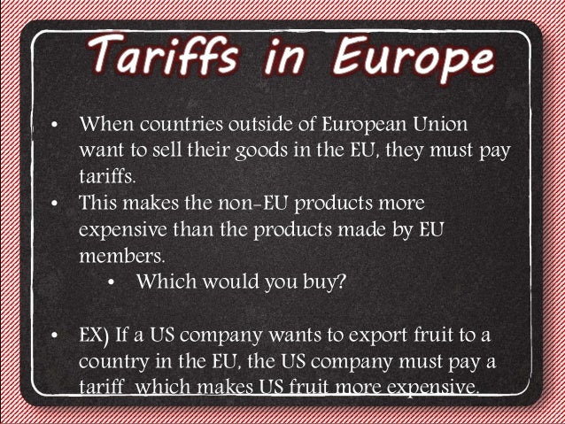 Trade options in europe