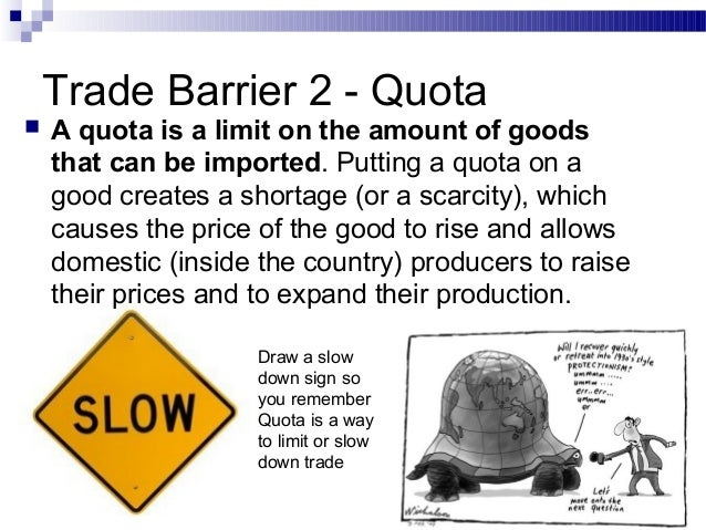 Trade Barriers Ppt